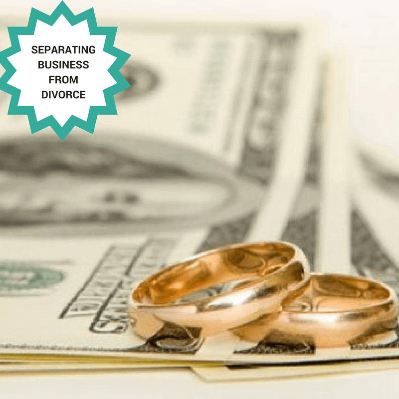 separating business from divorce